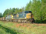 Northbound CSX Coal train