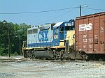 CSX 6091 in the yard