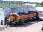 BNSF 2161 & BNSF 2025