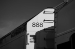 Number on the Back of Metrolink 888
