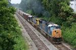 K 773 Loaded rock train