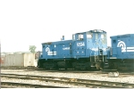 SW1500 9574 sits in the transfer yard at Oak Island