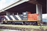 CN 1421 in the Limoilou yard in the mid '90s