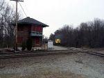 CSX WB Coal Hopper train