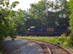 CSX 8762 on Q505 Southbound