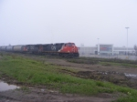 CN 405 near the yard