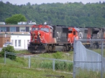 CN 405 on the Courtenay Bay spur