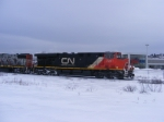CN 405 returning from the Courtenay Bay