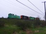 NB Southern shunters at Saint John west