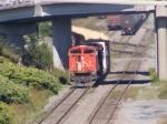 CN 406 arriving at Saint John