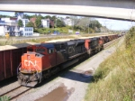 CN 406 light move to the shops