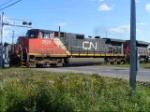 CN 406 departing Saint John