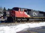 CN light move in Saint John March 6 2008