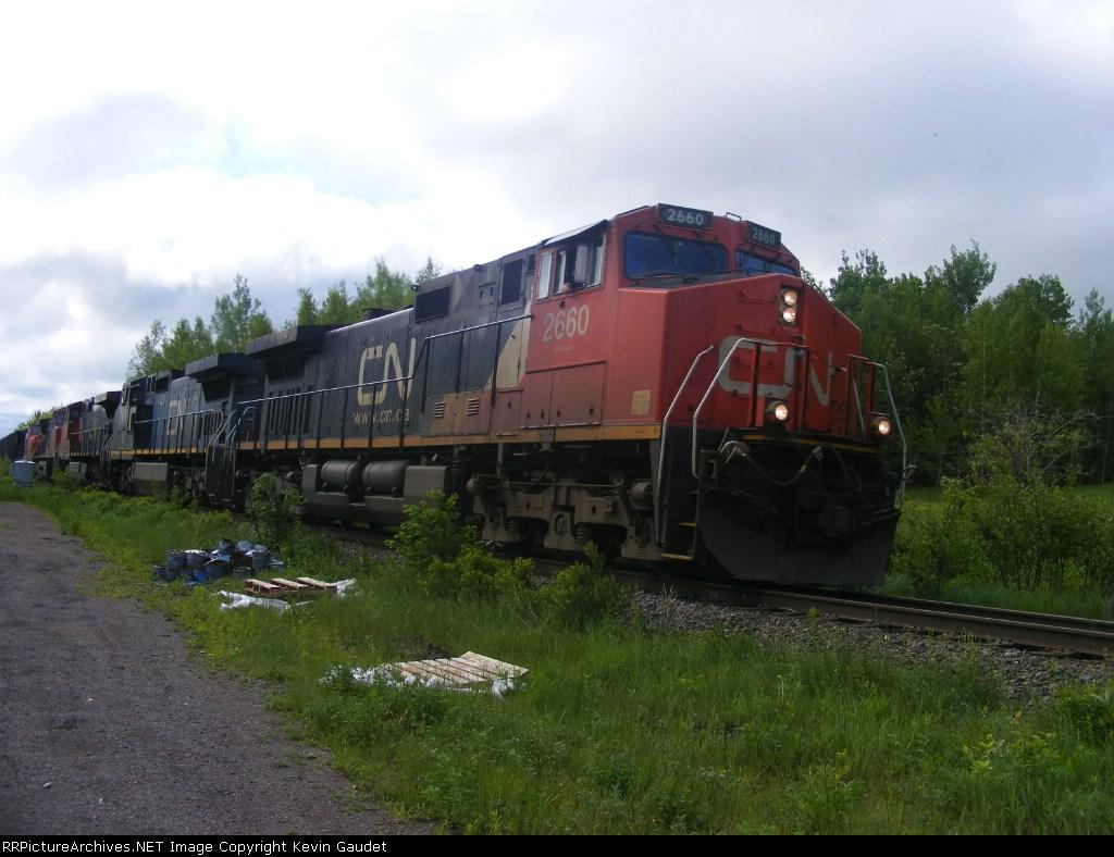 CN 305 at Berry Mills