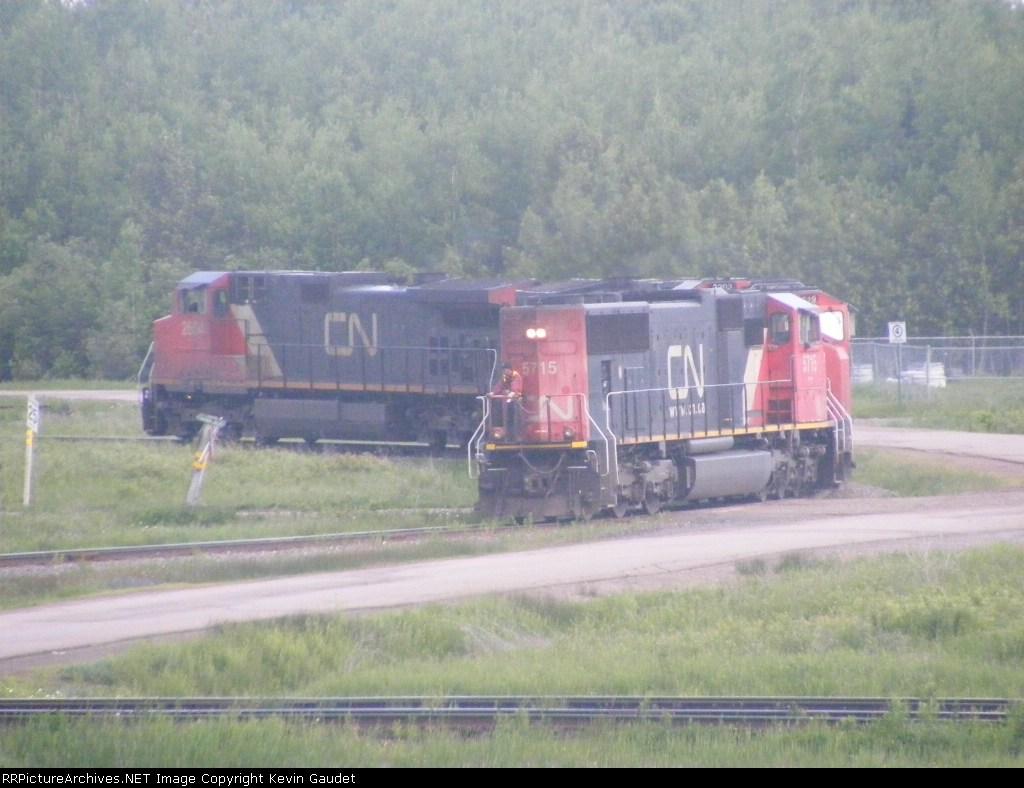 CN 308 on the loop