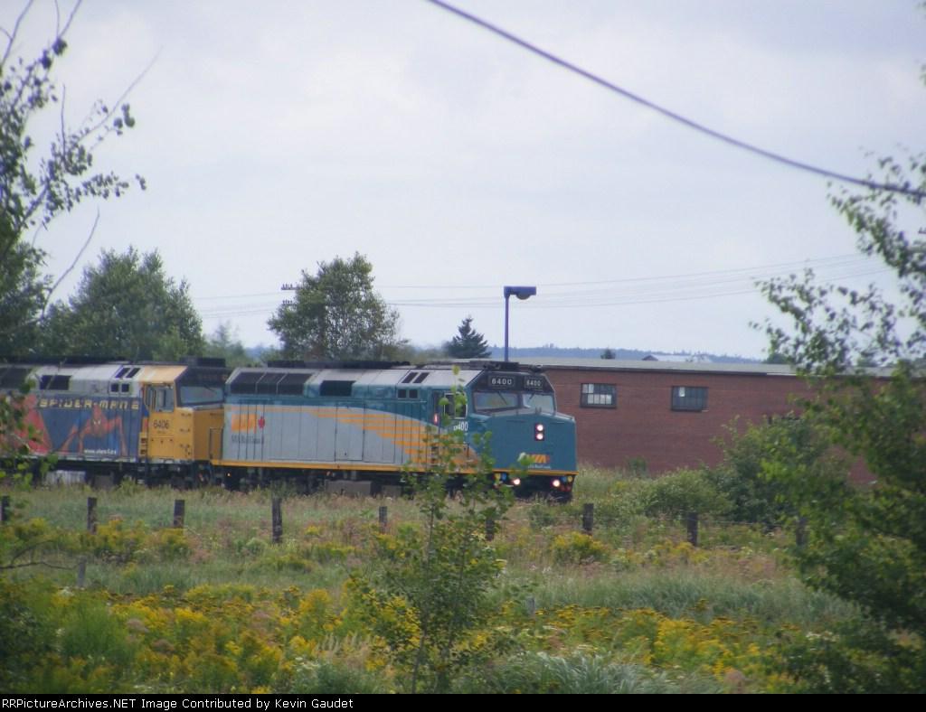 VIA 614 arriving at Sackville