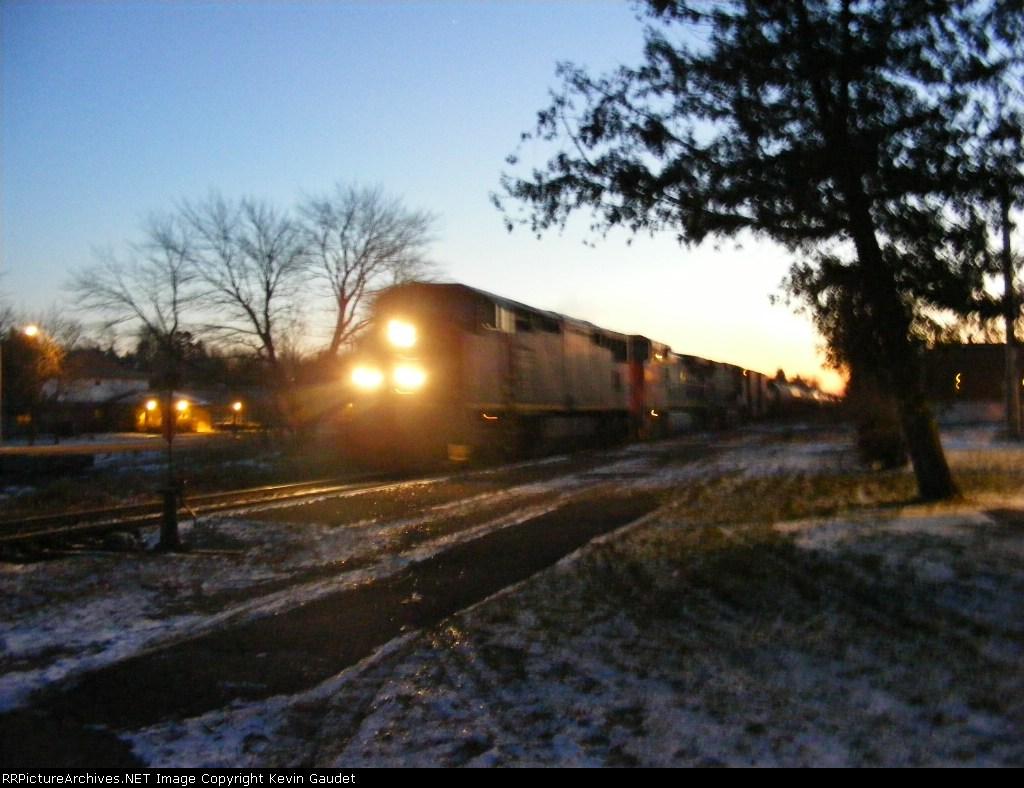 CN 405 at Petitcodiac