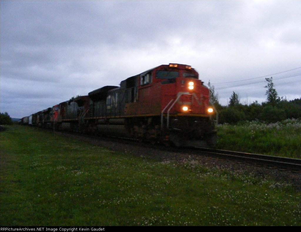 CN 408 at Memramcook