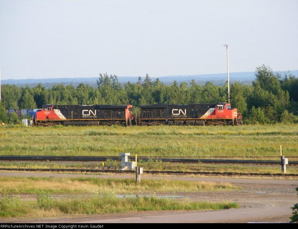 CN 408 on the loop