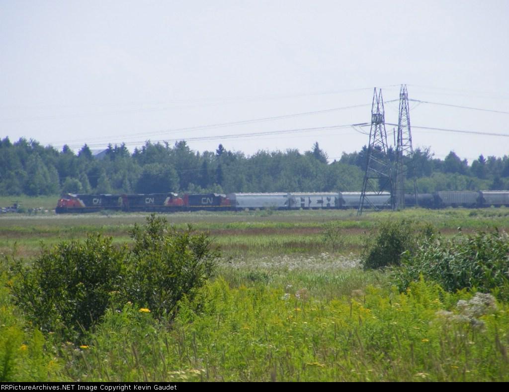 CN 407 scenic shot at Memramcook