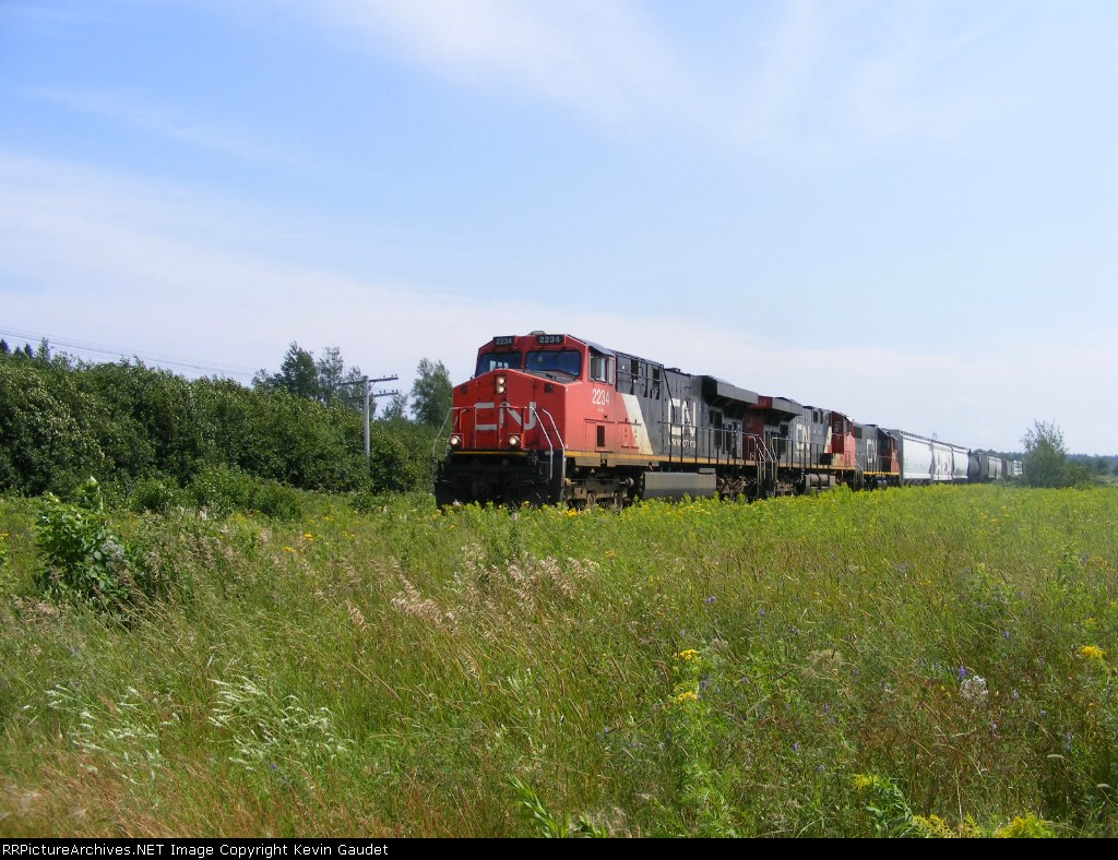 CN 407 at Memramcook