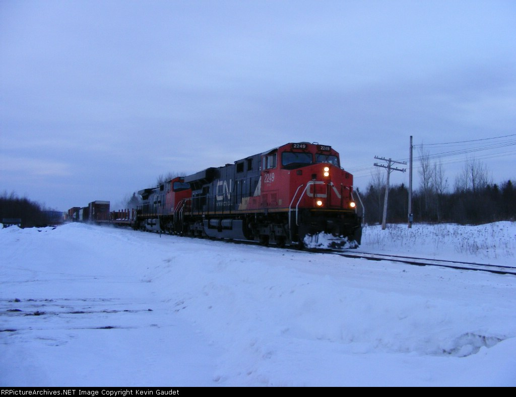 CN 120 at Memramcook