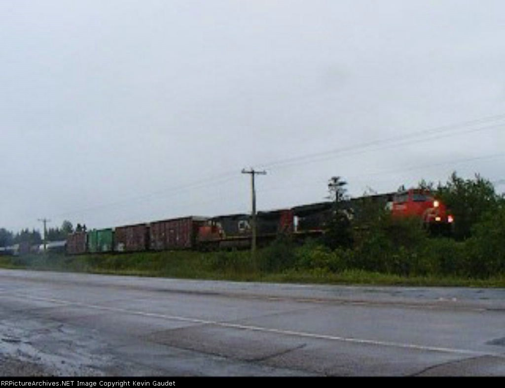CN 406 at MP 15 Sussex sub