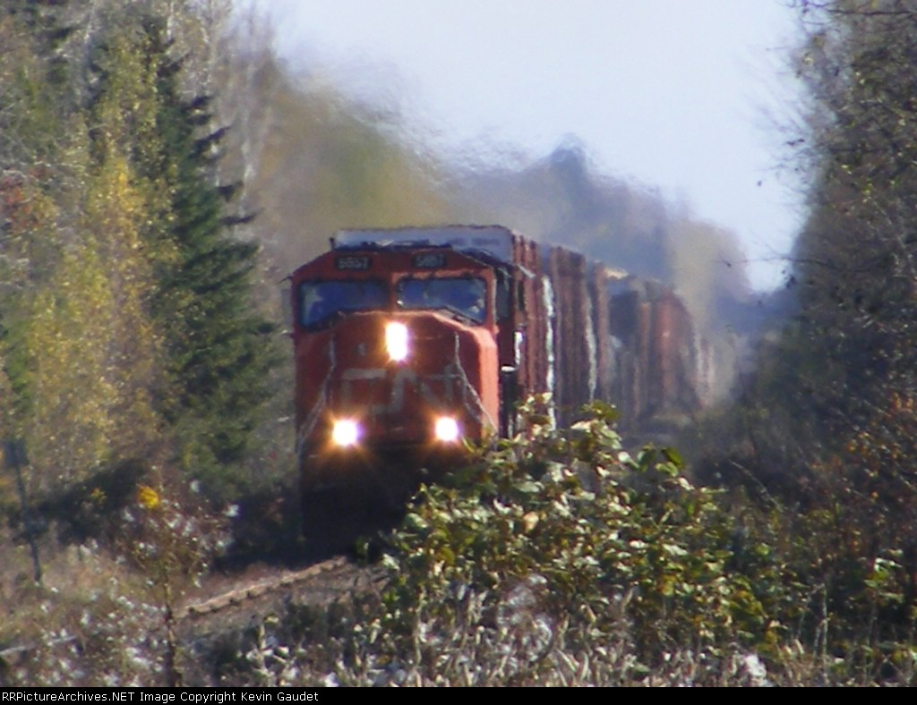 CN 406 outside Salisbury