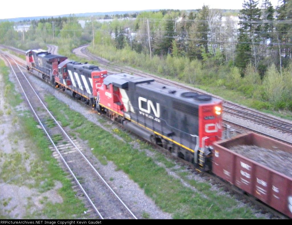 CN 473 at Gordon Yard