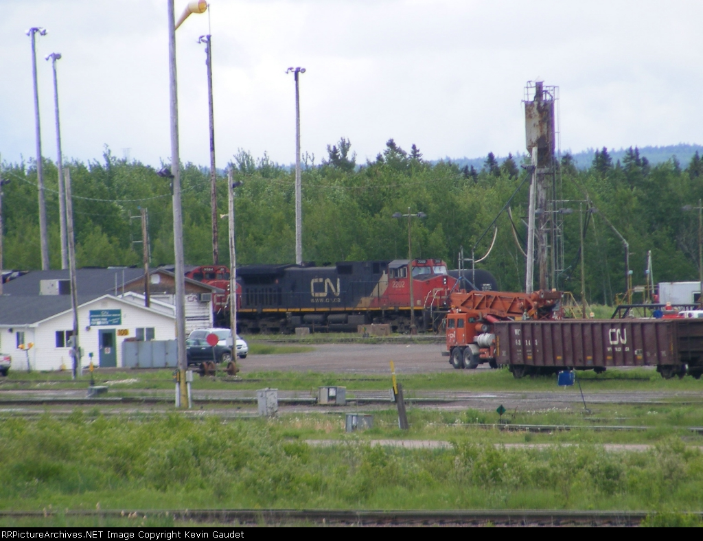 CN 594 at Gordon Yard