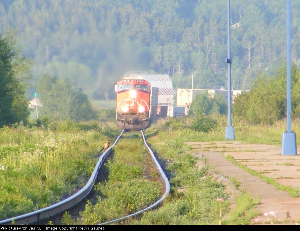 CN 120 at Sackville