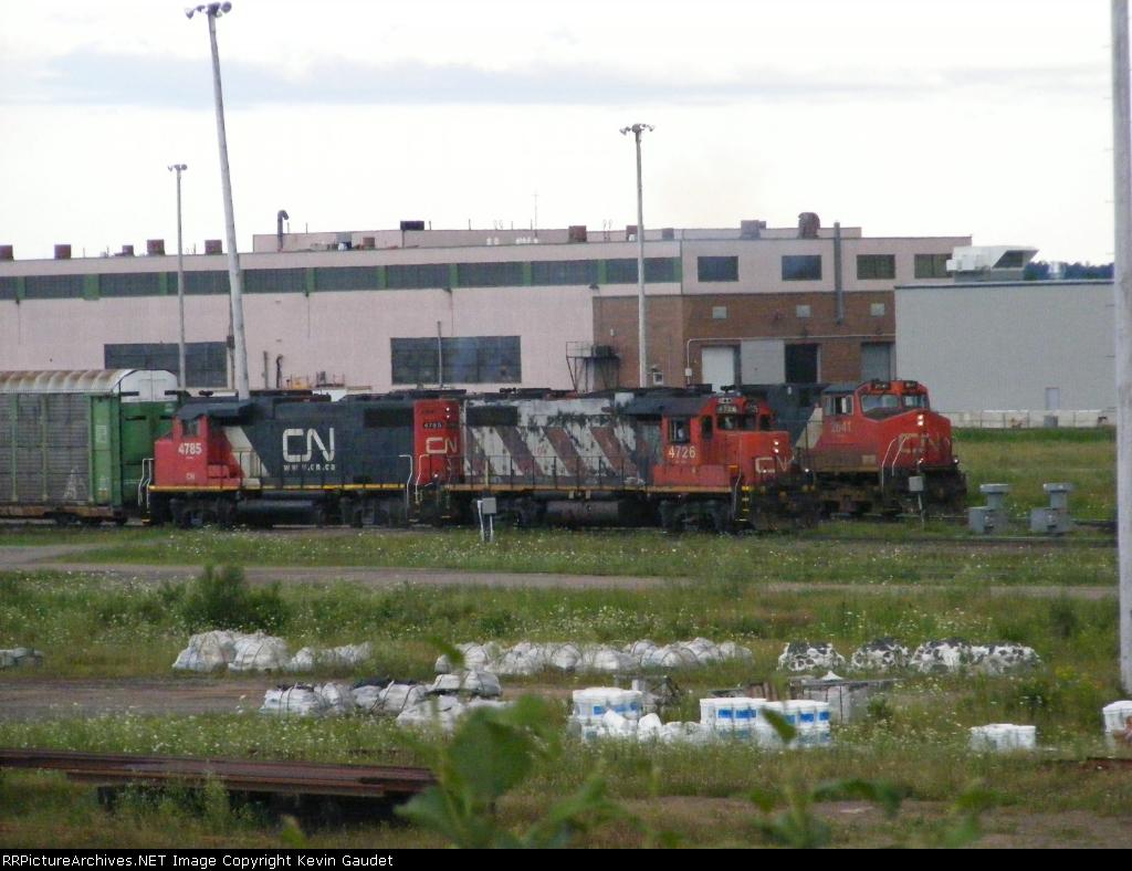 CN 408 & Y-A at Gordon Yard