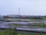 CN 308 407 & Yard Shunters at Gordon Yard