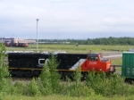 CN 2248 & yard shunters at Gordon Yard