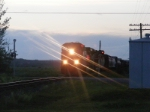 CN 408 at Memramcook with brake problems