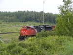 CN A40617-08 arriving at Gordon Yard