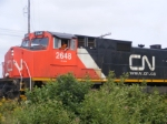 CN 407 departing Painsec Junction