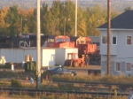 CN resting at the depot
