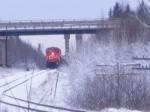 CN 120 under the trans-canada highway