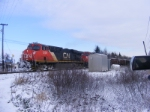 CN 121 departing Painsec Junction