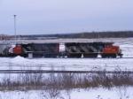 CN switchers at Gordon Yard