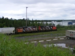 CN 539 returning to the yard