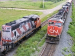 CN 308 passing 537 at Gort
