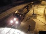 CN 537 preparing to depart for Chipman