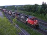 CN 308 arriving at Gort