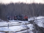 CN 405 arriving at Gordon Yard
