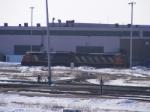 CN 474's power at Gordon Yard