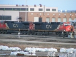 CN 408 ready to depart