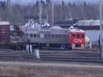 CN 15016 (test car) at Gordon yard
