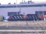 CN shunters at Gordon Yard